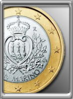 euro coins of the republic of san marino